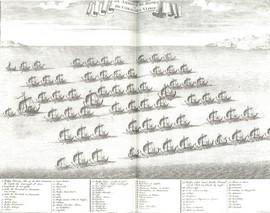 De Ambonse hongi-vloot (bron: Valentijn)
