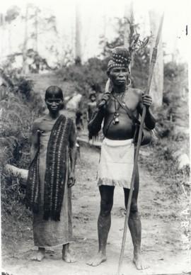 radja van Honitetu met echtgenote, ca. 1915 (bron: MuMa)