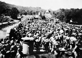 Indonesische aanval op de RMS, Ambon, 28 september 1950 (bron: MuMa)