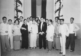 Molukse studenten op Java: de Vereniging van Ambonese studenten, Jakarta, 1938 (bron: MuMa)