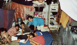 Houtkap op Tanimbar, 1988 (bron: MuMa)