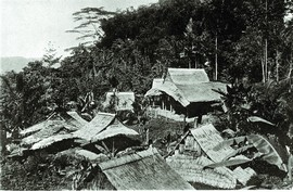 Dorp op Seram (bron: Tauern 1918)