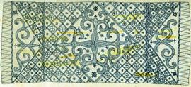 Sarong van boombast, Halmahera (bron: De Clercq 1890)