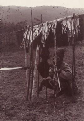 Alfoer bij een matakau (afweer- of verbodsteken) (bron: MuMa)